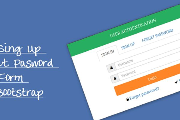 Login Sing Up Forget Pasword Modal Form Using Bootstrap